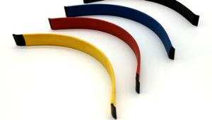 Heat shrink tubing used in construction industry